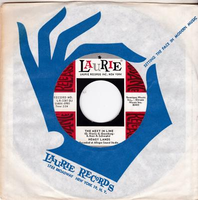 Hoagy Lands - The Next In Line / Please Don't Talk About Me When I'm Gone -  Laurie LR 3381 DJ