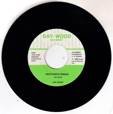 Jan Jones - Independent Woman /  Independent Woman part 2 - Day-Wood A101