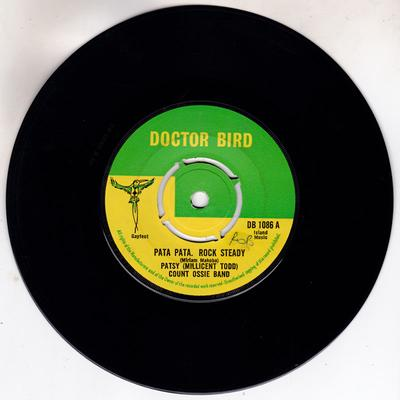 Patsy (Millicent Todd) with the Count Ossie Band - Pata Pata Rock Steady / Nyiah Bongo - Doctor Bird DB 108