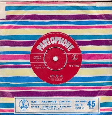 Beatles - Love Me Do / P.S. I Love You - Parlophone 45-R 4949