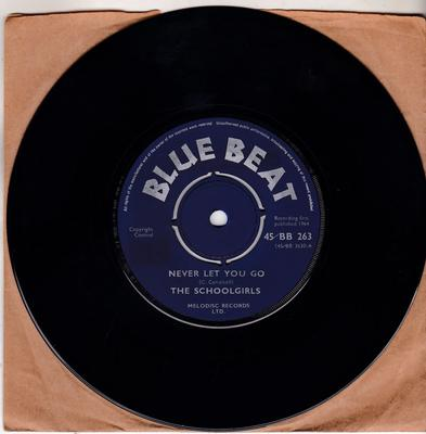 Schoolgirls / Buster's All Stars - Never Let You Go / Supercharge - Blue Beat 45/BB 263