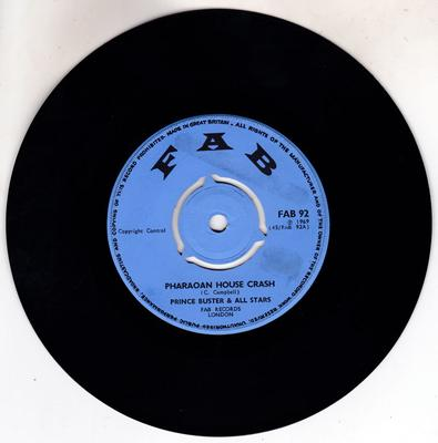Prince Buster & All Stars - Pharaoan House Crash / Ob-La-Di Ob-La-Da - FAB 92