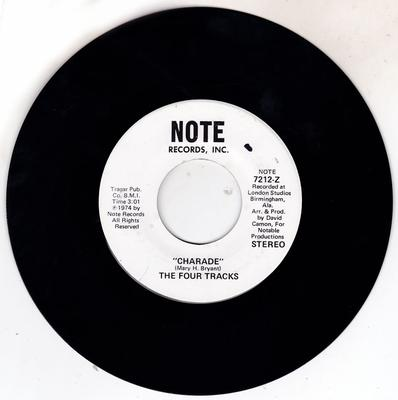 Four Tracks - Charade / You Mean Everything To Me - Note 7212 Z