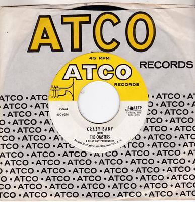 Coasters - Crazy Baby / Bell Bottom Slacks And Chinese Kimona - Atco 45-6379