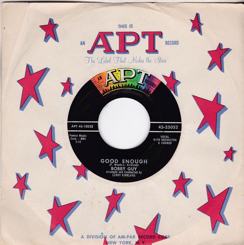 Bobby Guy - Good Enough / A Vow - Apt 45-25052