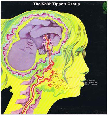 Keith Tippet Group - Dedicate To You But You Weren't Listening / 1971 Original first press - Vertigo 6360024