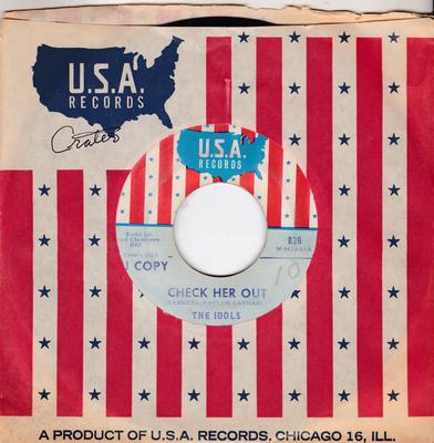 Idols - Check Her Out / Why Am I So Blue - U.S.A. 826 DJ
