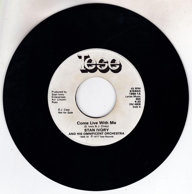 Stan Ivory - Come Live With Me / Stan's Theme - Tese 1999 DJ