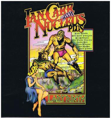 Ian Carr's Nucleus - Labylinth / original 1973 UK press - Vertigo 6360 091