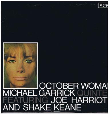 Michael Garrick Quintet feat: Joe Harriott and Shake Keane - October Woman / original 1965 UK press - Argo DA 33