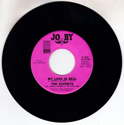 Experts with Tommy Dodson & The Best Men - My Love Is Real / ( Shing-A-Loo & Boog-A-Ling ) Big Mama! - Jo By E 500