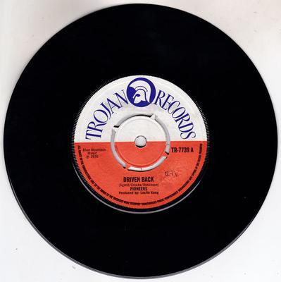 Pioneers - Driven Back / Trouble Dey A Brush - Trojan TR 7739