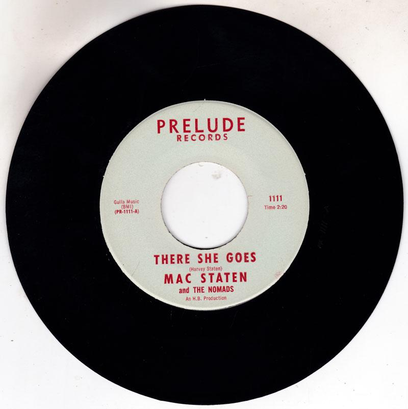 Mac Staten and The Nomads - There She Goes / Do The Freeze - Prelude 1111