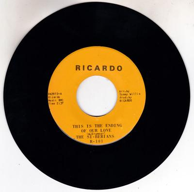 Si-Berians - This Is The Ending Of Our Love / Crying Won't Help The Hurt - Ricardo R42972