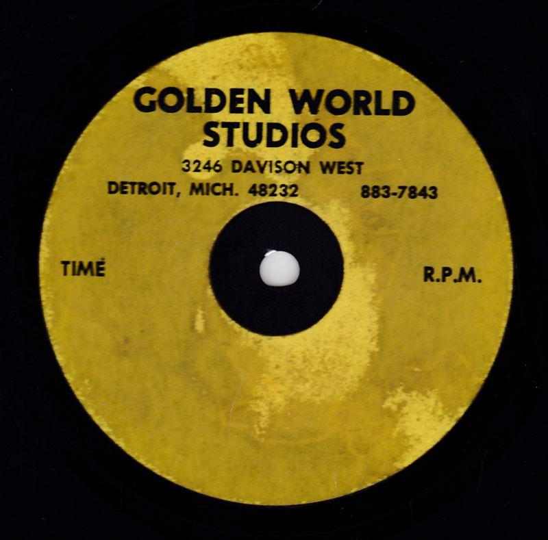 Rose Batiste -That's What He Told Me / blank - Golden World 10