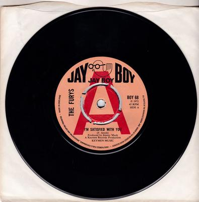 Furys - I'm Satisfied With You / Just A Little Mixed Up - Jay Boy BOY 68 DJ