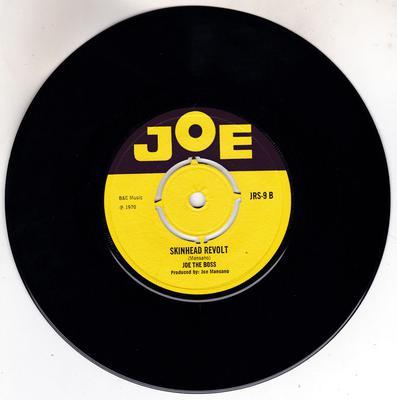 Joe The Boss / Joe's All Stars - Skinhead Revolt /Tony B's Theme - Joe JRS 9