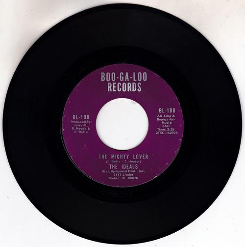 Ideals - The Mighty Lover / Dancing In U S A - Boo-Ga-Loo BL 108