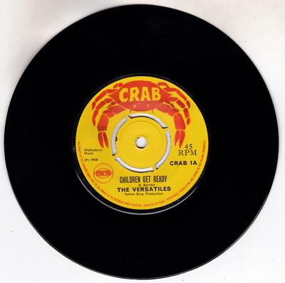 Versatiles - Children Get Ready / Someone To Love - Crab 1