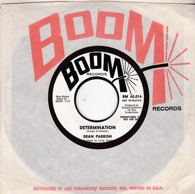 Dean Parrish - Determination / Turn On Your Lovelight - Boom BM 60, 016 DJ