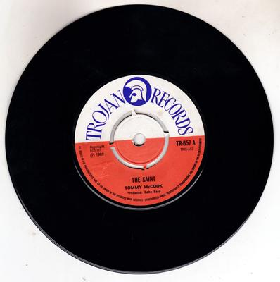 Tommy McCook / Soul Ofrous  - The Saint / Ease Me Up Officer - Trojan TR-657