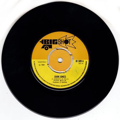 Rudy Mills - John Jones / Place Called Happiness -  Big Shot BI 509