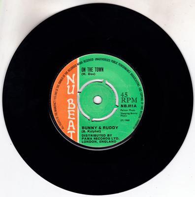 Bunny & Ruddy / Monty Morris - On The Town / Simple Simon - Nu Beat NB 011