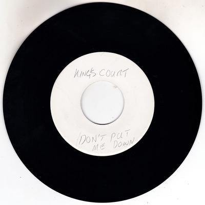 King's Court - Don't Put Me Down / Midnite Hour - Wheel's 4 Records 3613