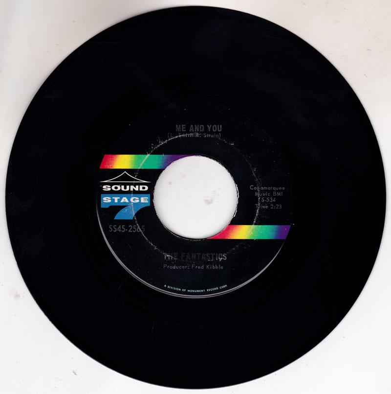 Fantastics - Me And You / Have a Little Faith - Sound Stage 7 SS45-1565