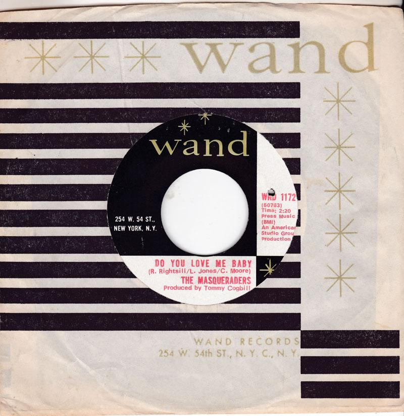 Masqueraders - Do You Love Me Baby / Sweet Lovin' Woman - Wand WND 1172