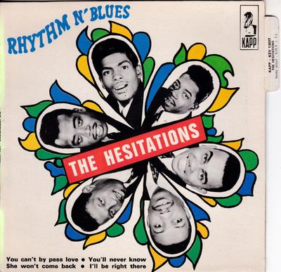 Hesitations - Rhythm N' Blues / 4 track Pied Piper recordings - Kapp KEV 13037 EP PS France