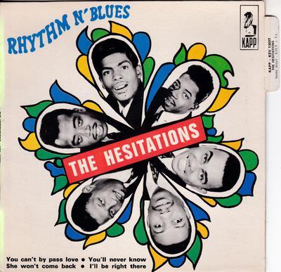 Hesitations - Rhythm N' Blues / 4 track Pied Piper recordings - Kapp KEV 13037 EP PS France