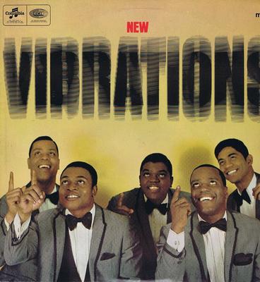 Vibrations - The New Vibrations / 1966 British press - Columbia SX 6106