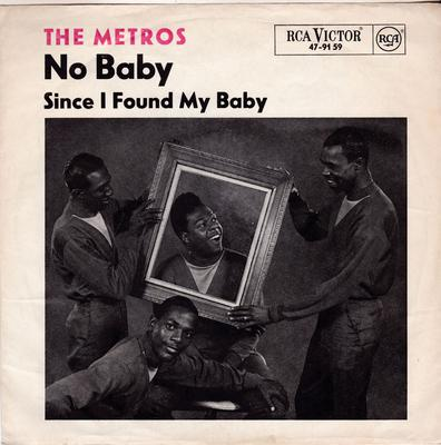 Metros - Since I Found My Baby / No Baby - RCA 47-9159 PS Germany
