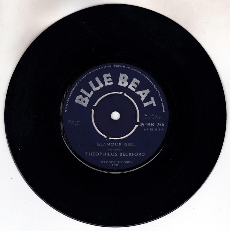 Theophilus Beckford / Buster's All Stars - Glamour Girl / Down Beat Burial - Blue Beat – 45/BB 256