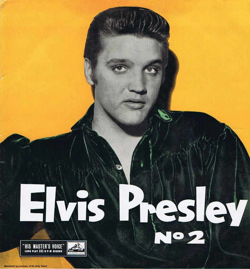 Elvis Presley - Rock And Roll no. 2 / 1957 UK press -  His Master's Voice CLP 1105
