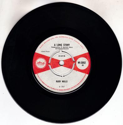 Rudy Mills / Bobby Ellis - A Long Story / Now We Know - Island WI 3092