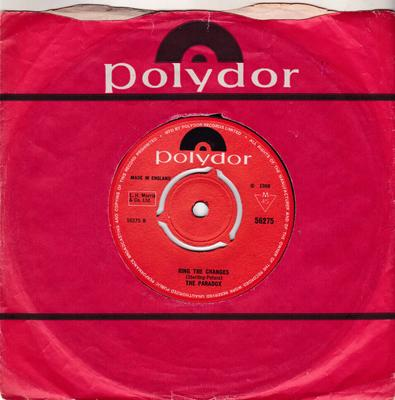 Paradox - Ring The Changes / Wednesday's Theme - Polydor 56275