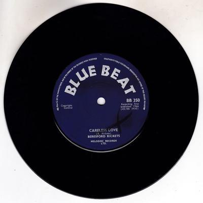 Beresford Rickets - Careless Love / Jailer Bring Me Water  - Blue Beat BB 350