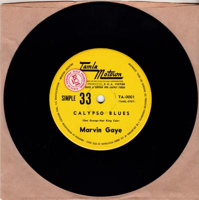 Marvin Gaye - To The Ends Of The Earth / Calypso Blues - Tamla Motown TA-0001 DJ Argentina