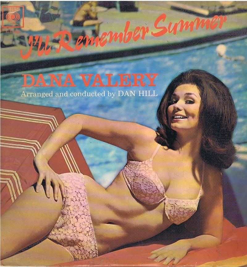 Dana Valery - I'll Remember Summer / inc: You're Gonna Love My Baby - Columbia ALD 6969 South Africa