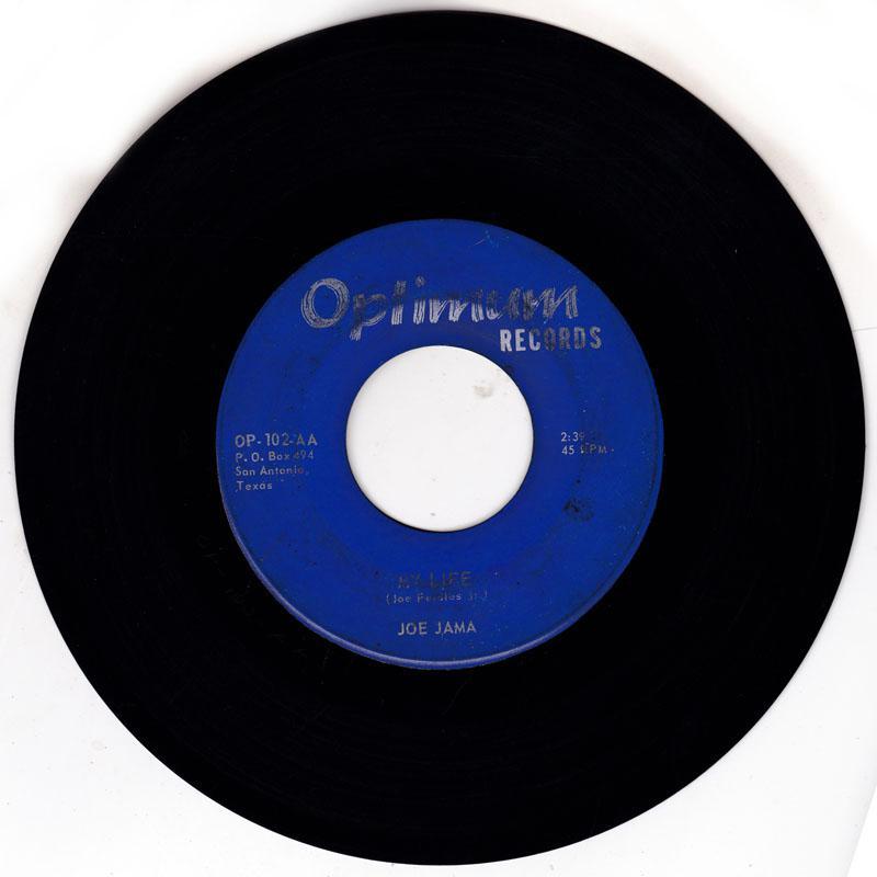 Joe Jama - My Life / Sleep Late My Lady Friend - Optimum OP 102