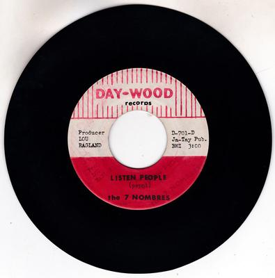 7 Nombres - Listen People / Full Of Love - Day-Wood D-701