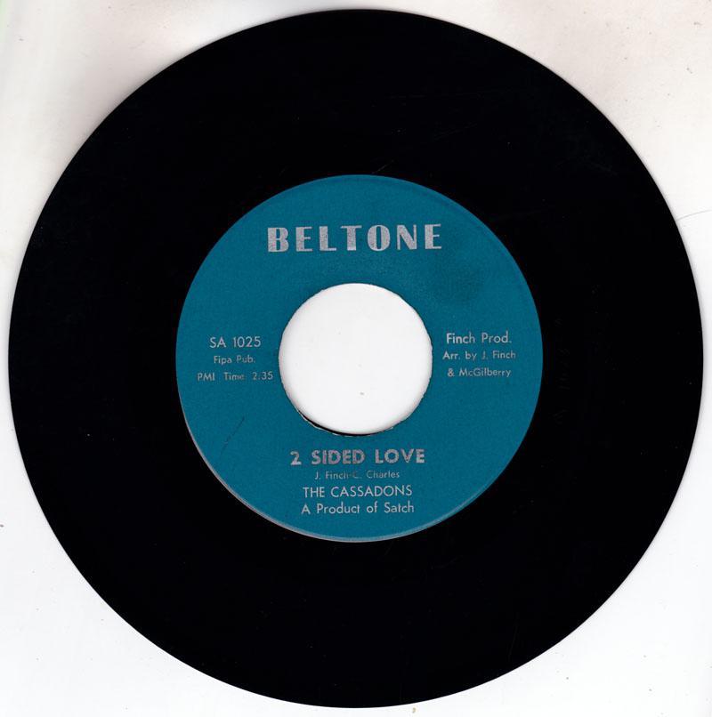 Cassadons - 2 Sided Love / 48 Hours A Week - Beltone SA 1025