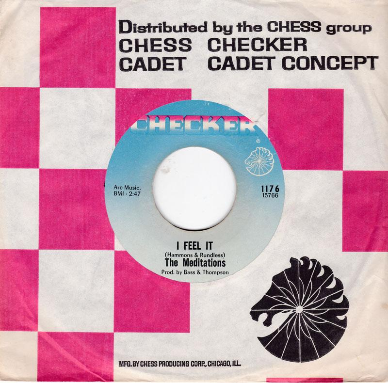 Meditations - I Feel It / It's Wrong To Fight - Checker 1176