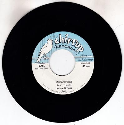 Lonnie Brooks - Demonstrating / One Sunny Day - Chirrup 501