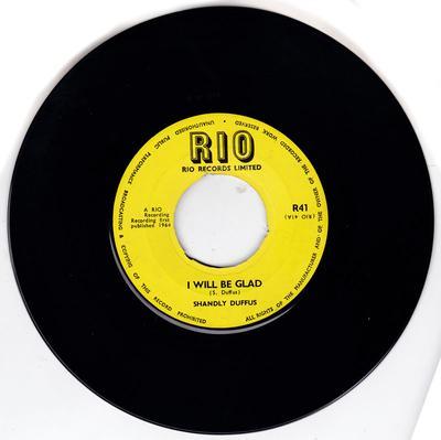 Shandly Duffus - I Will Be Glad / Heariso - Rio R41