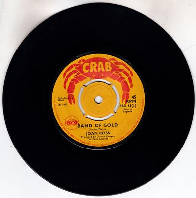 Joan Ross / Hammers - Band Of Gold / Midnight Sunshine - Crab 61