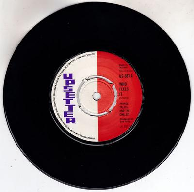 Prince Tallis and the Challis / Upsetters - Who Feels It / Chapter Two - Upsetter US 383