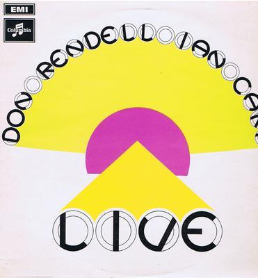 "Don Rendell / Ian Carr - ""Live"" / original 1969 mono press - Columbia SX 6316"